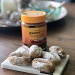 Cheesecake- en pindakaaskoekjes uit '100 luxe koekjes van eigen deeg'