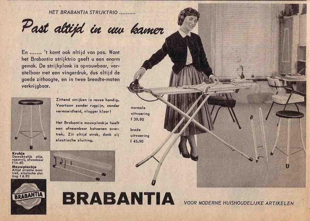 geschiedenis van Brabantia advertentie