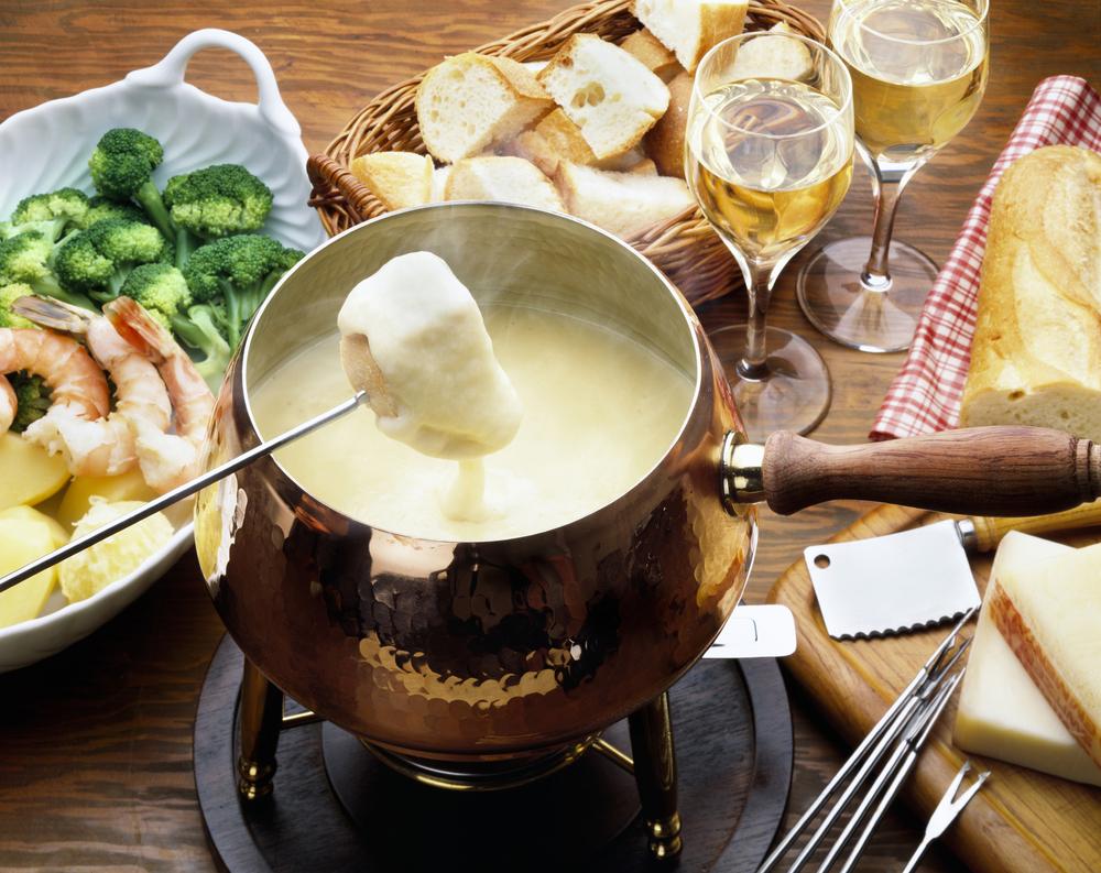 geschiedenis van beroemde gerechten: gourmet en fondue
