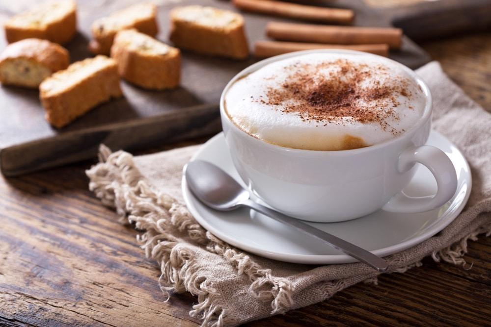 geschiedenis van beroemde gerechten: cappuccino