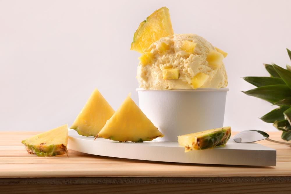 pina colada ijs met ananas