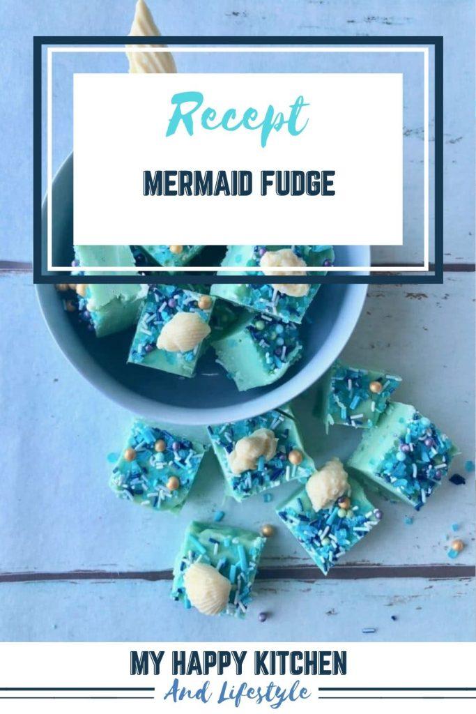 Mermaid fudge pin