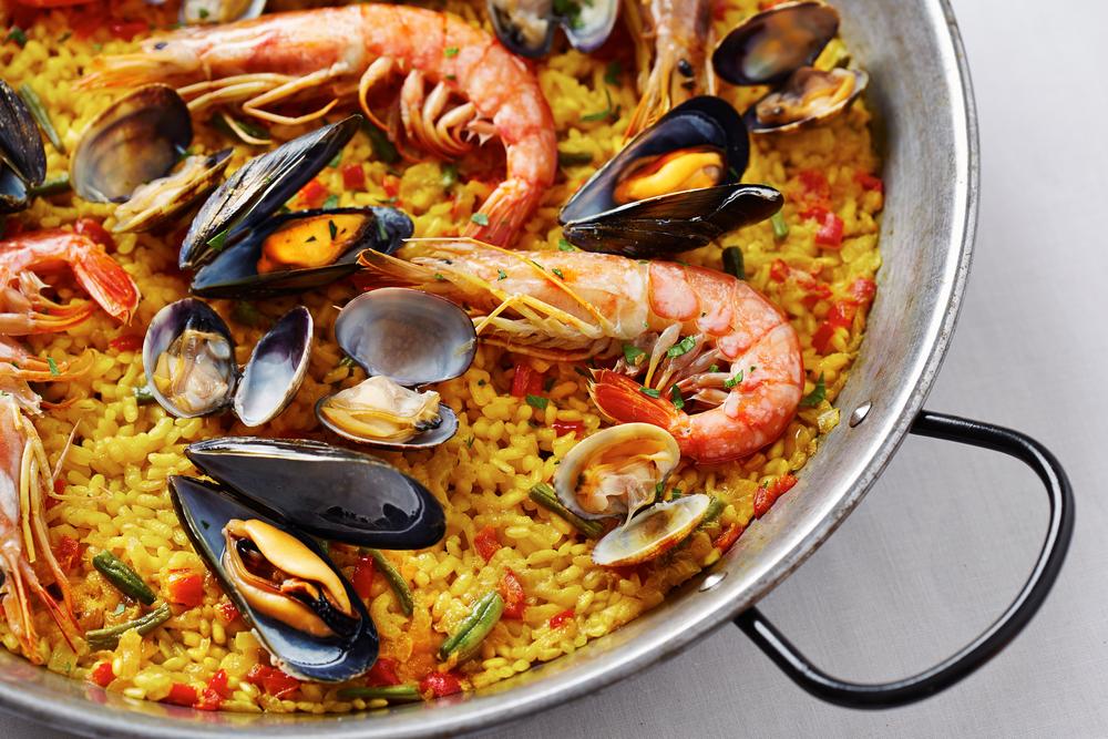 geschiedenis van beroemde gerechten- paella