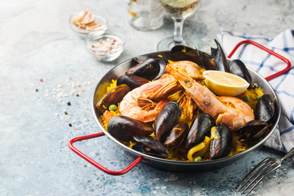 geschiedenis van beroemde gerechten - paella