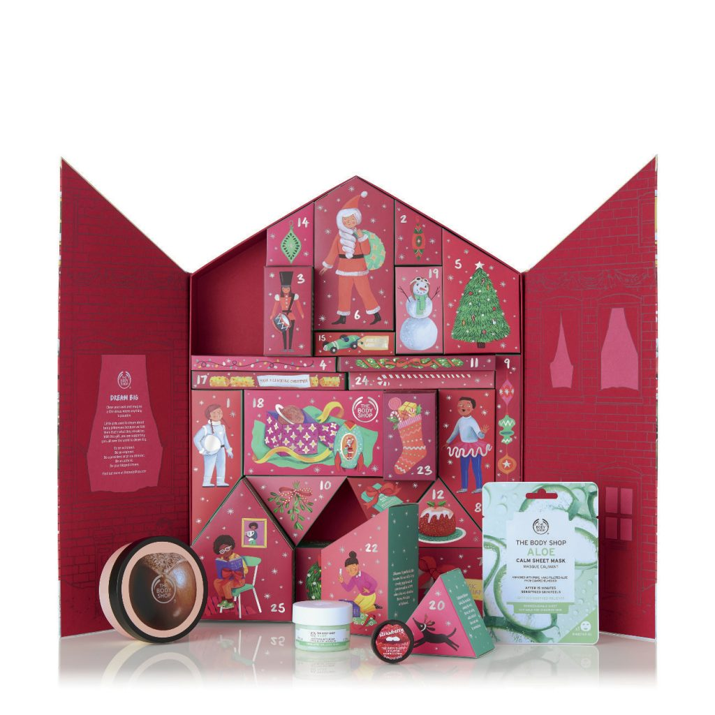 Adventskalender The Bodyshop