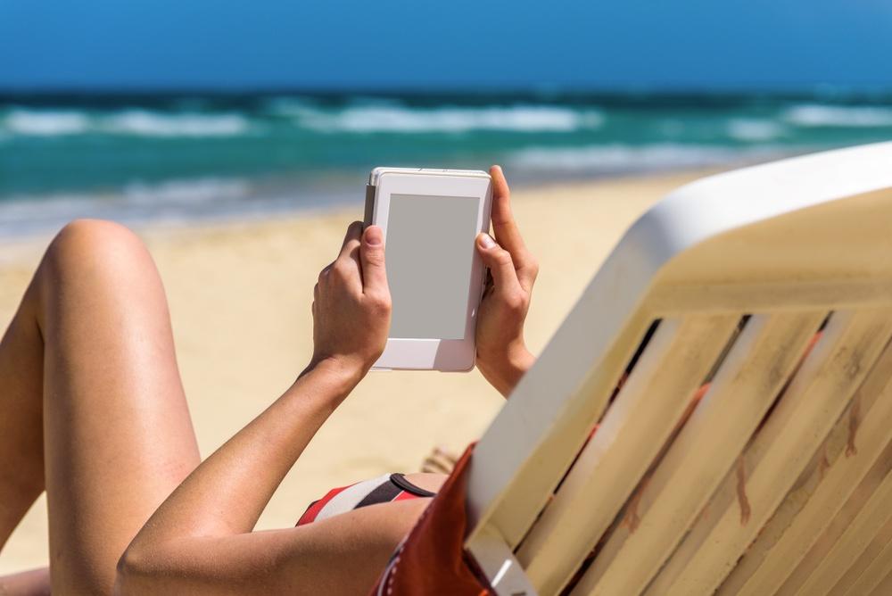 kobo clara e-reader strand