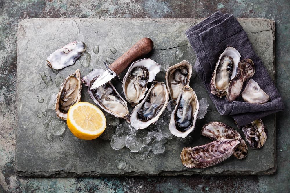 Geschiedenis van beroemde gerechten - oesters