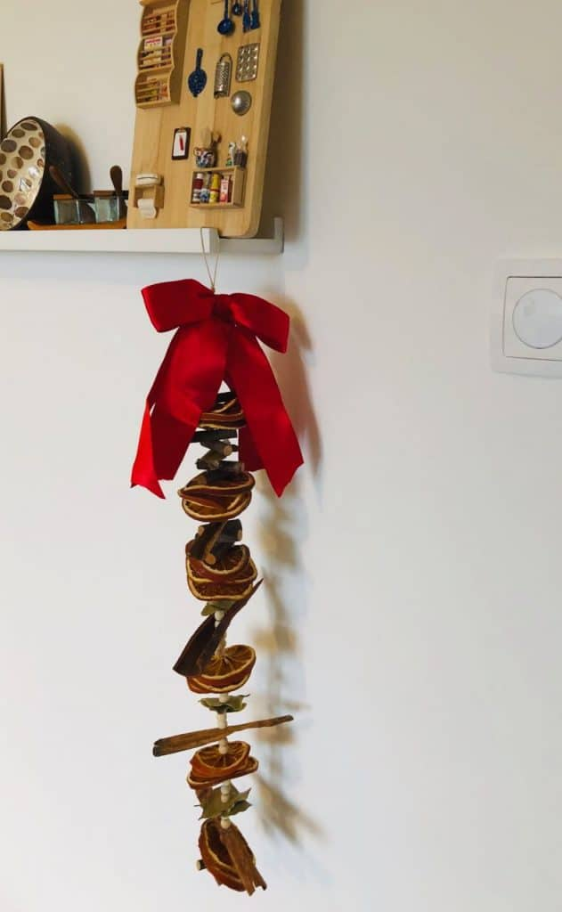 DIY kerstslinger