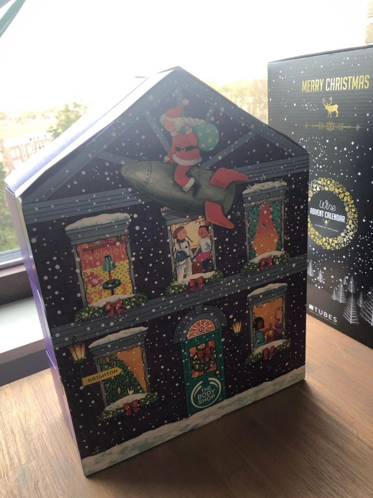 Bodyshop adventskalender
