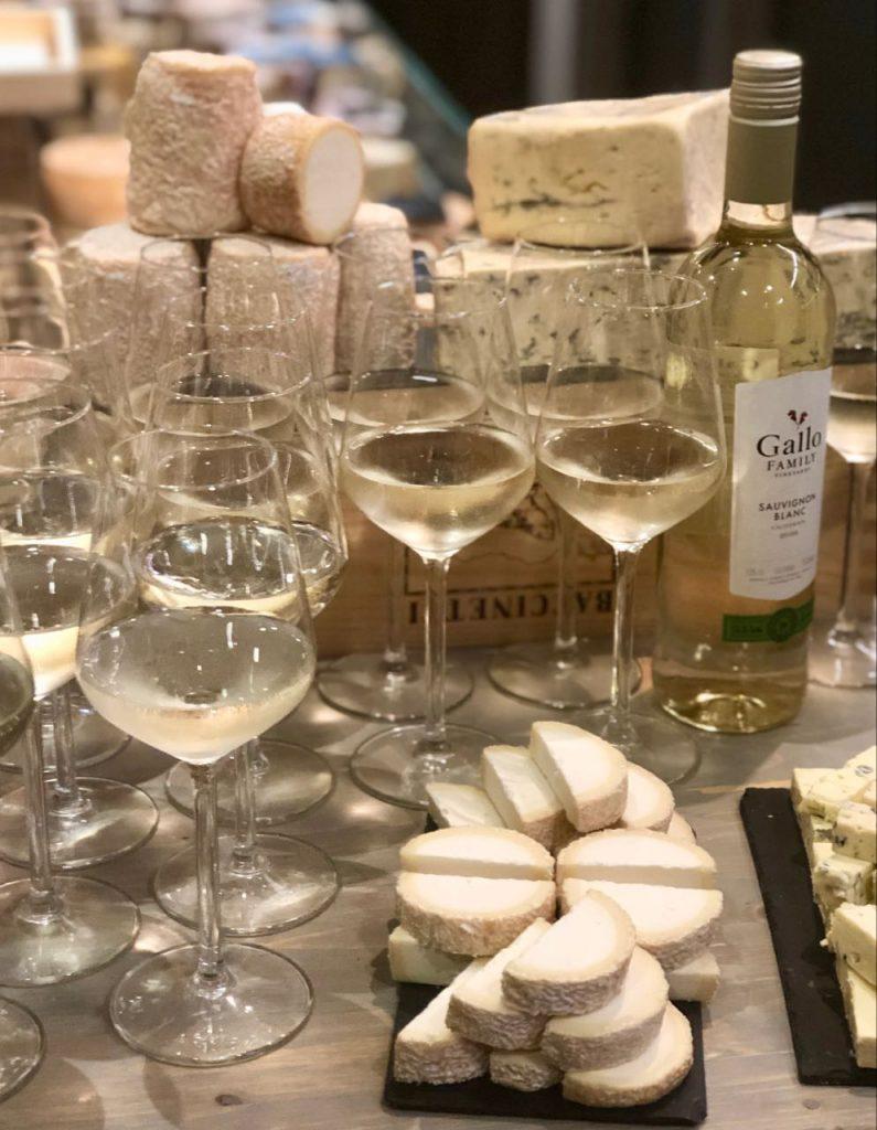 Gallo wijn en kaas