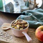 Ontbijttaartje met appel en havermout