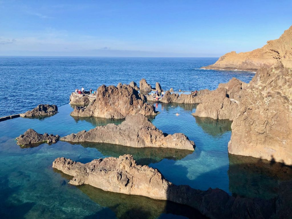 highlights van Madeira - Porto Moniz