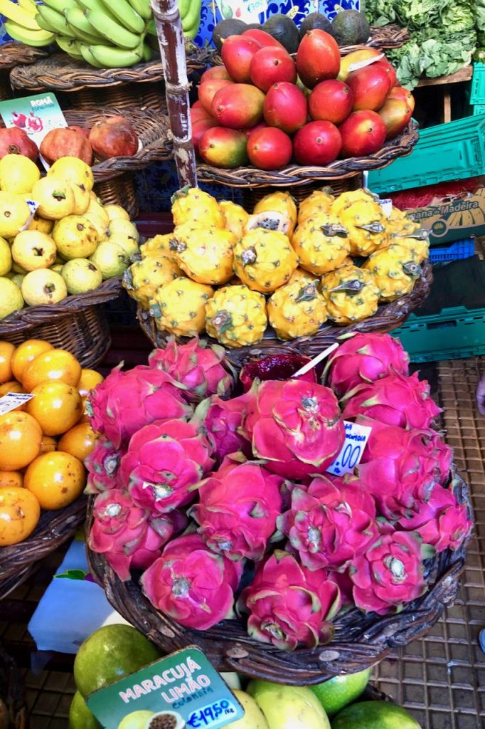 exotisch fruit Madeira