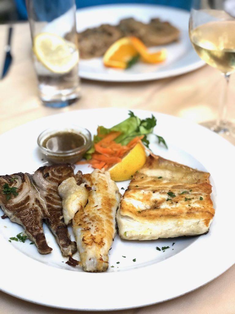 eten en drinken op Madeira - versie vis