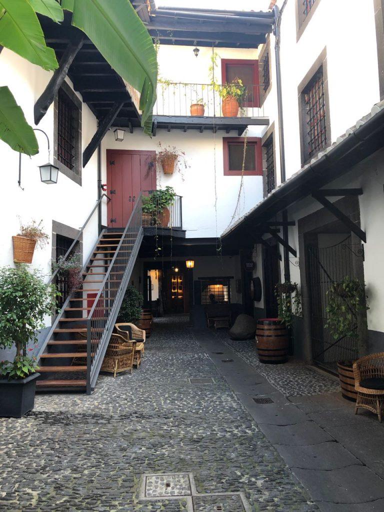 Blandys' wine lodge