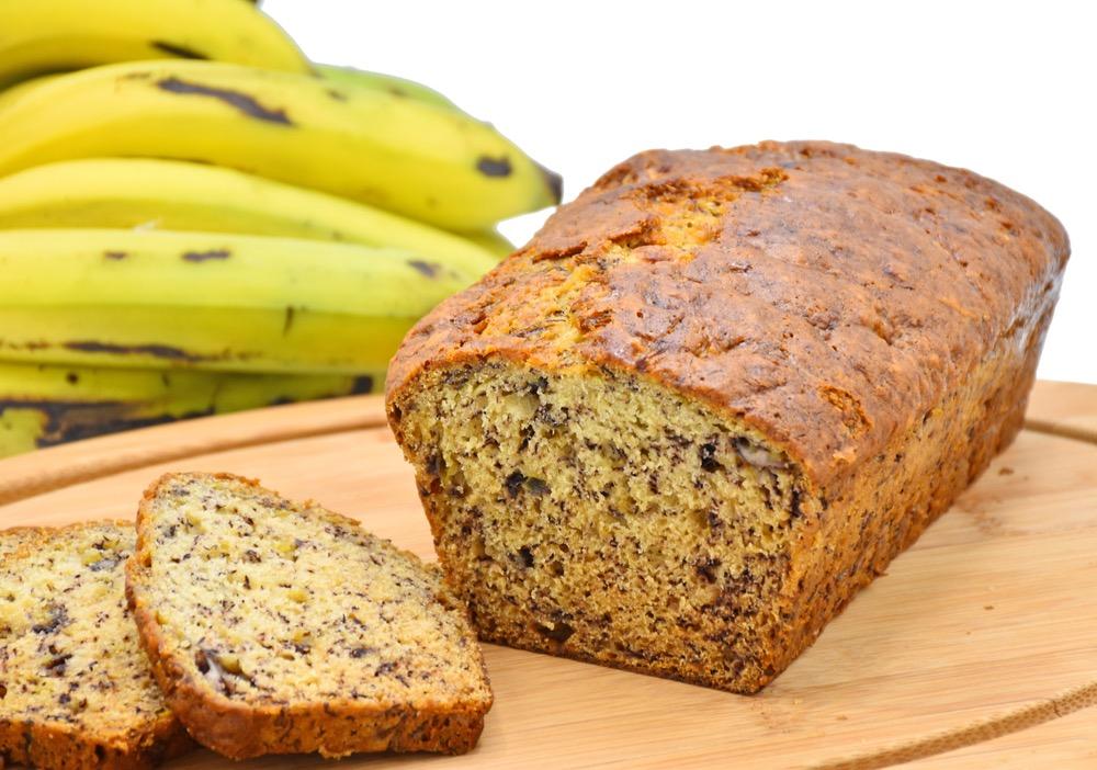 Trends in eten en drinken - de jaren 10 bananenbrood