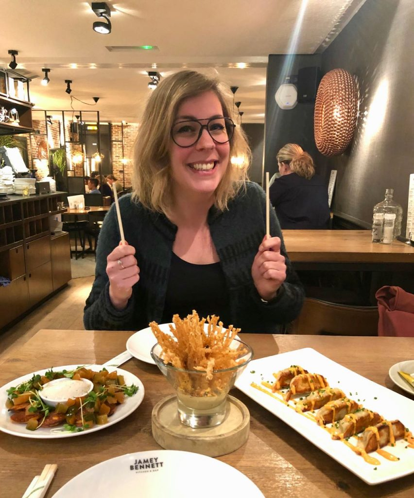 Lunchen met Andrea