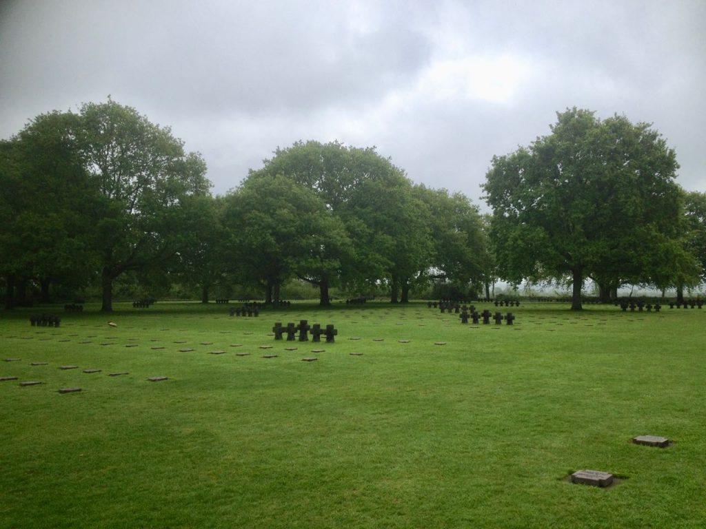 Duitse begraafplaats Normandië