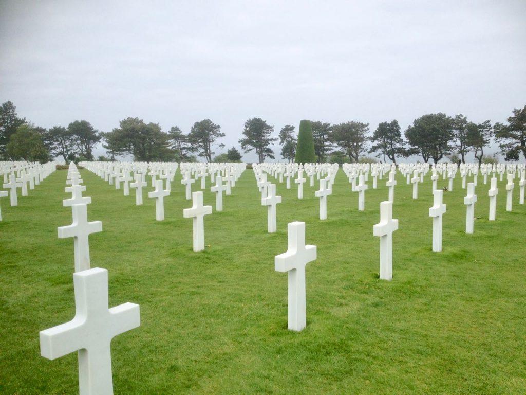 Amerikaanse begraafplaats Normandië