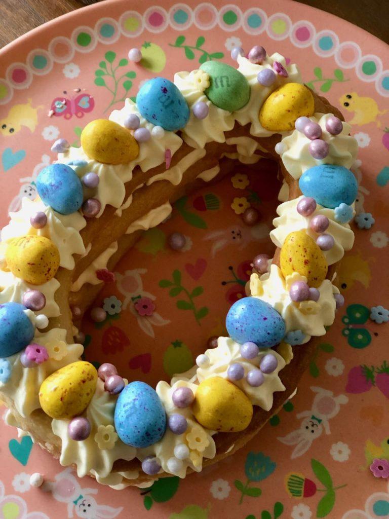 Koektaart voor Pasen
