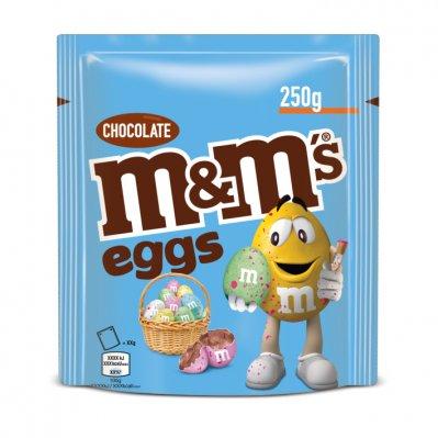 m&m eggs