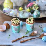 Roerei met truffel in een eierschaal