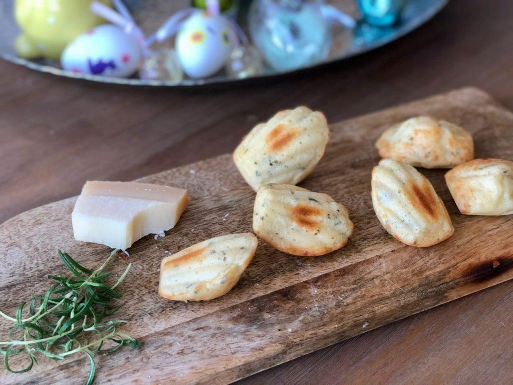 Hartige madeleines