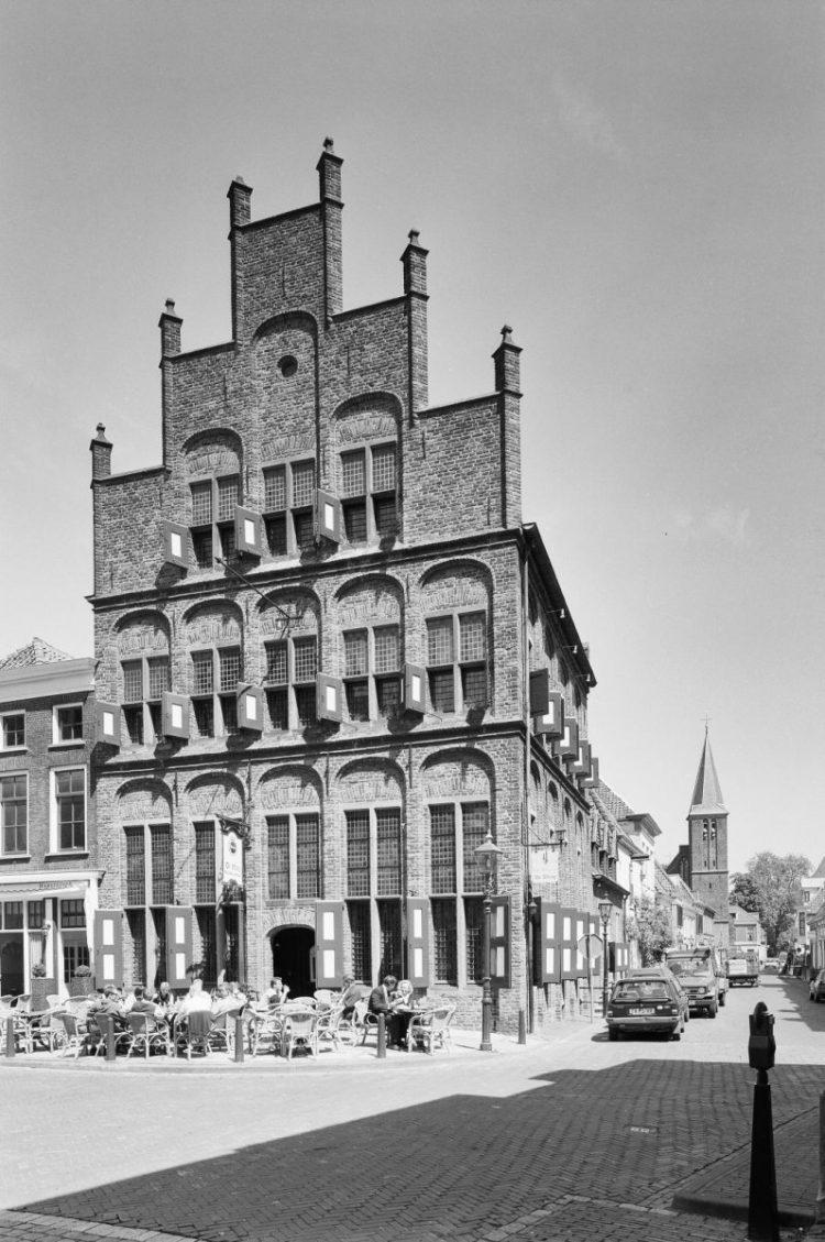 geschiedenis van het restaurant - de waag