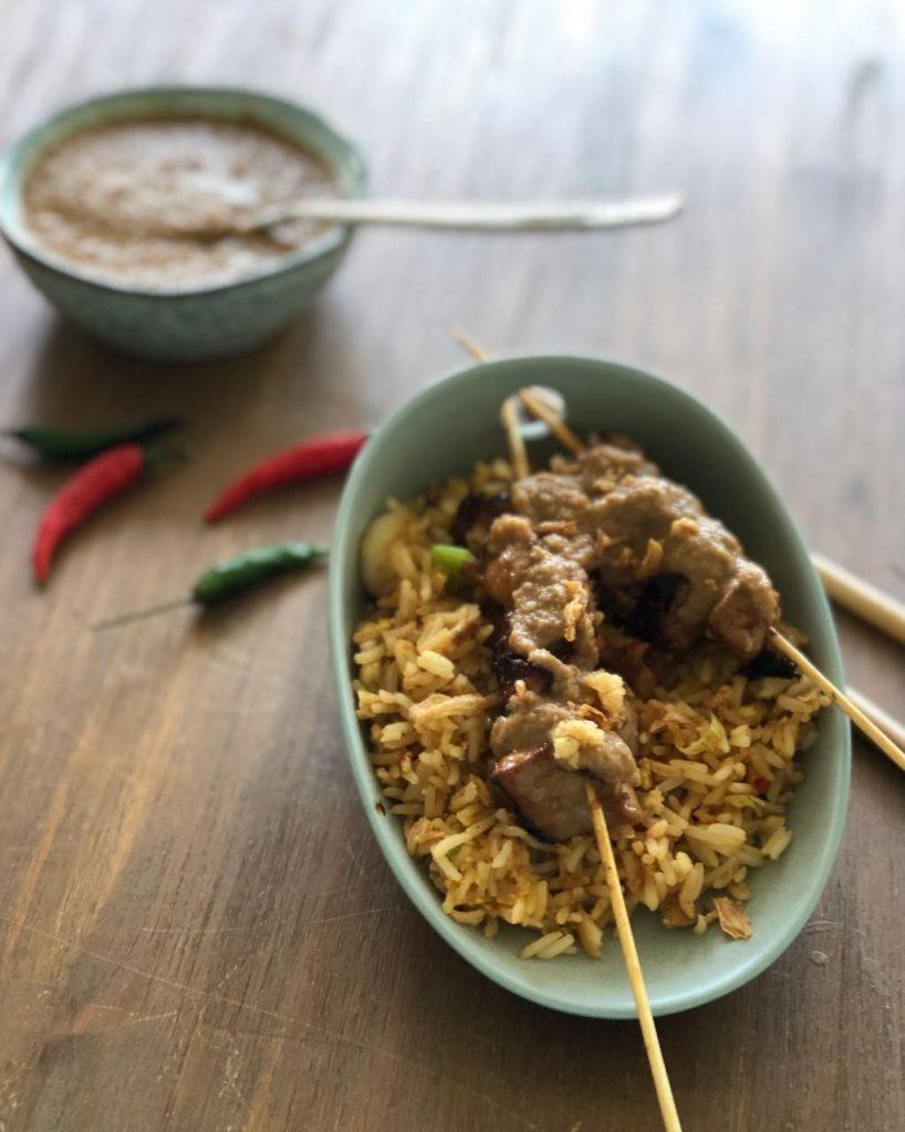 Indonesische nasi goreng