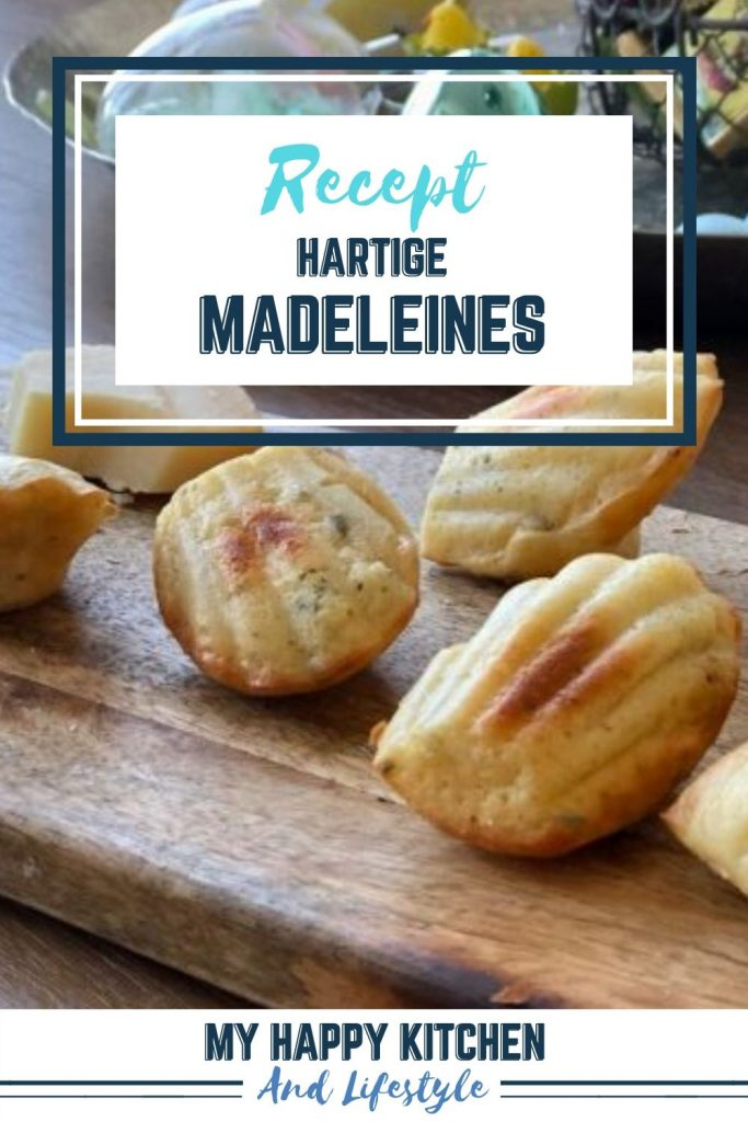 Pinterest pin Madeleines