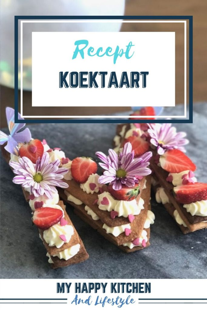 Pinterest pin koektaart