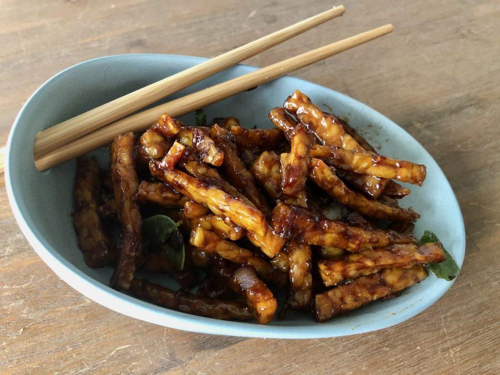 tempe manis of tempeh goreng