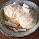 Lemon meringue ijs (met en zonder ijsmachine)