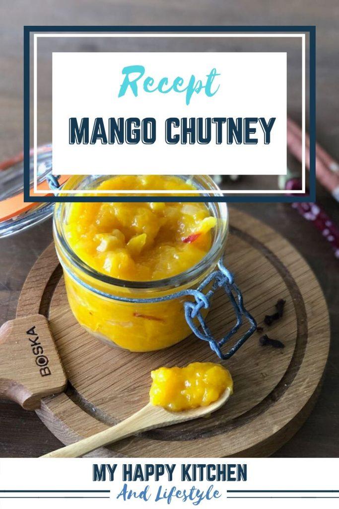 Pinterest pin mango chutney