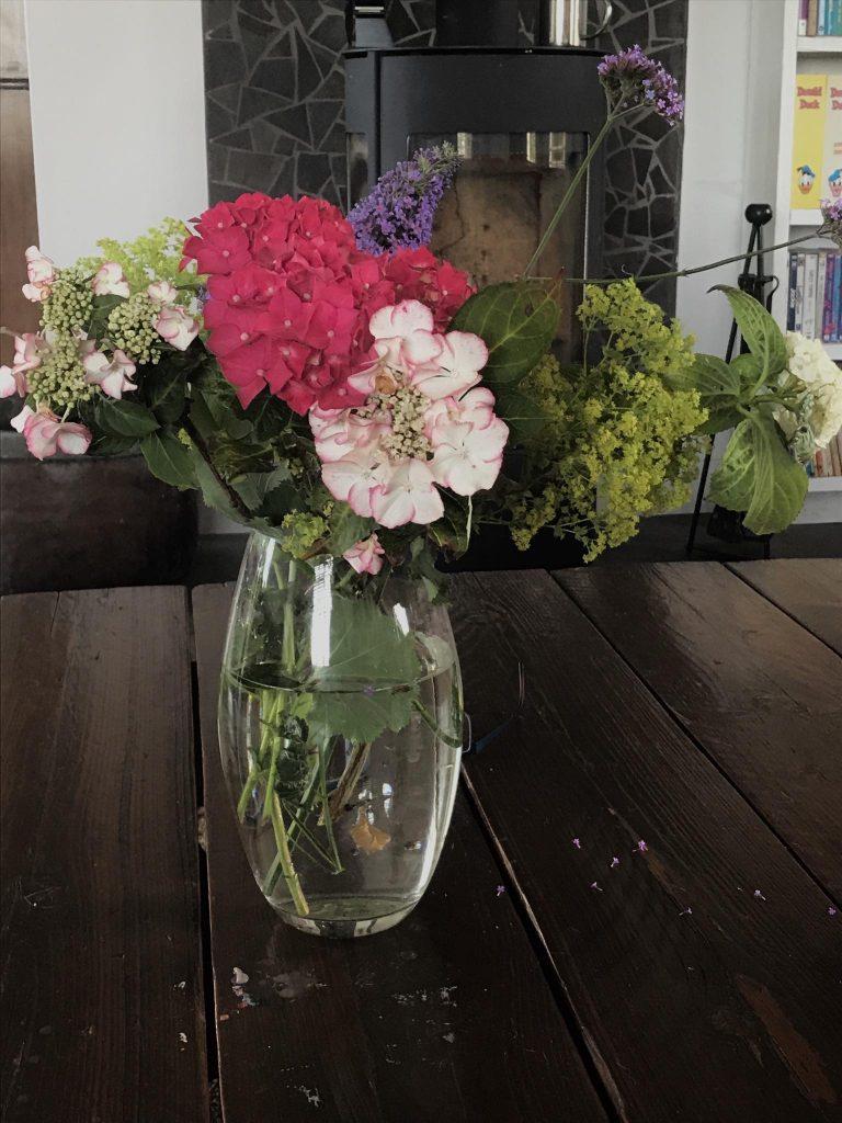 uit de moestuin - bloemen