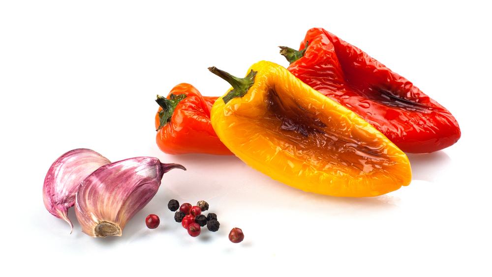 gegrilde paprika
