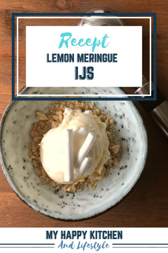 pinterest pin lemon meringue ijs