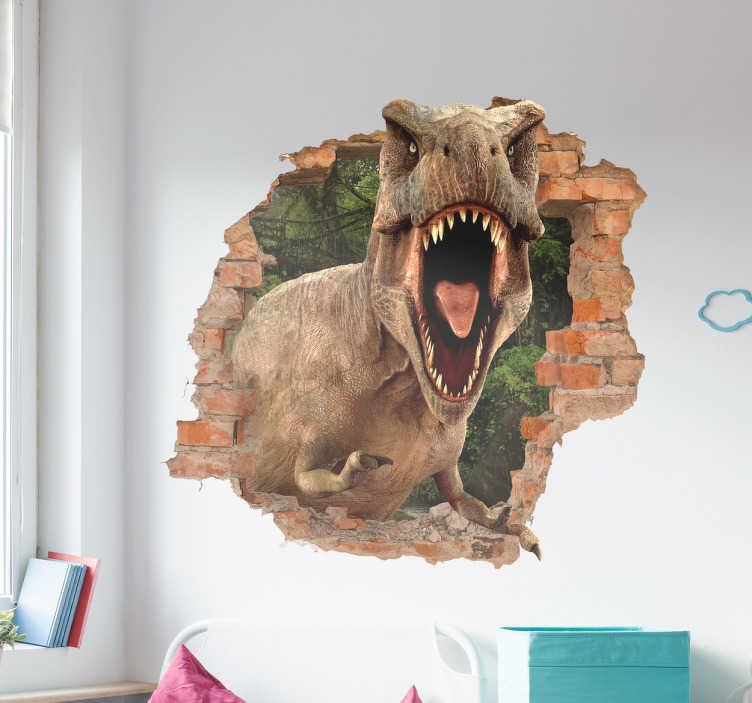 Dino muursticker