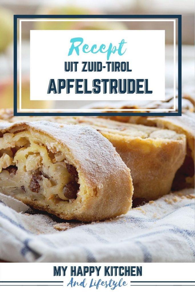 Apfelstrudel uit Zuid-Tirol