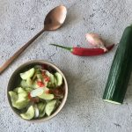 Thaise zoetzure komkommer maken