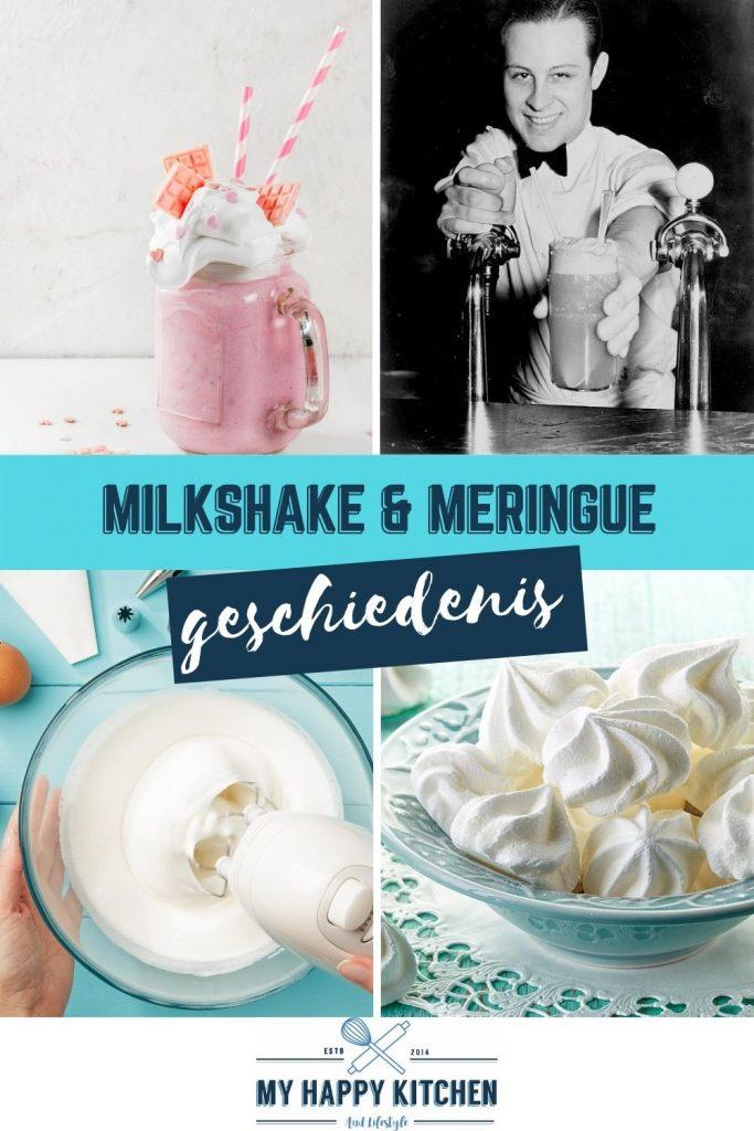 Pinterest pin milkshake en meringue