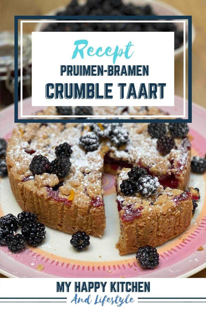 Pinterest pin pruimen-bramen crumble taart
