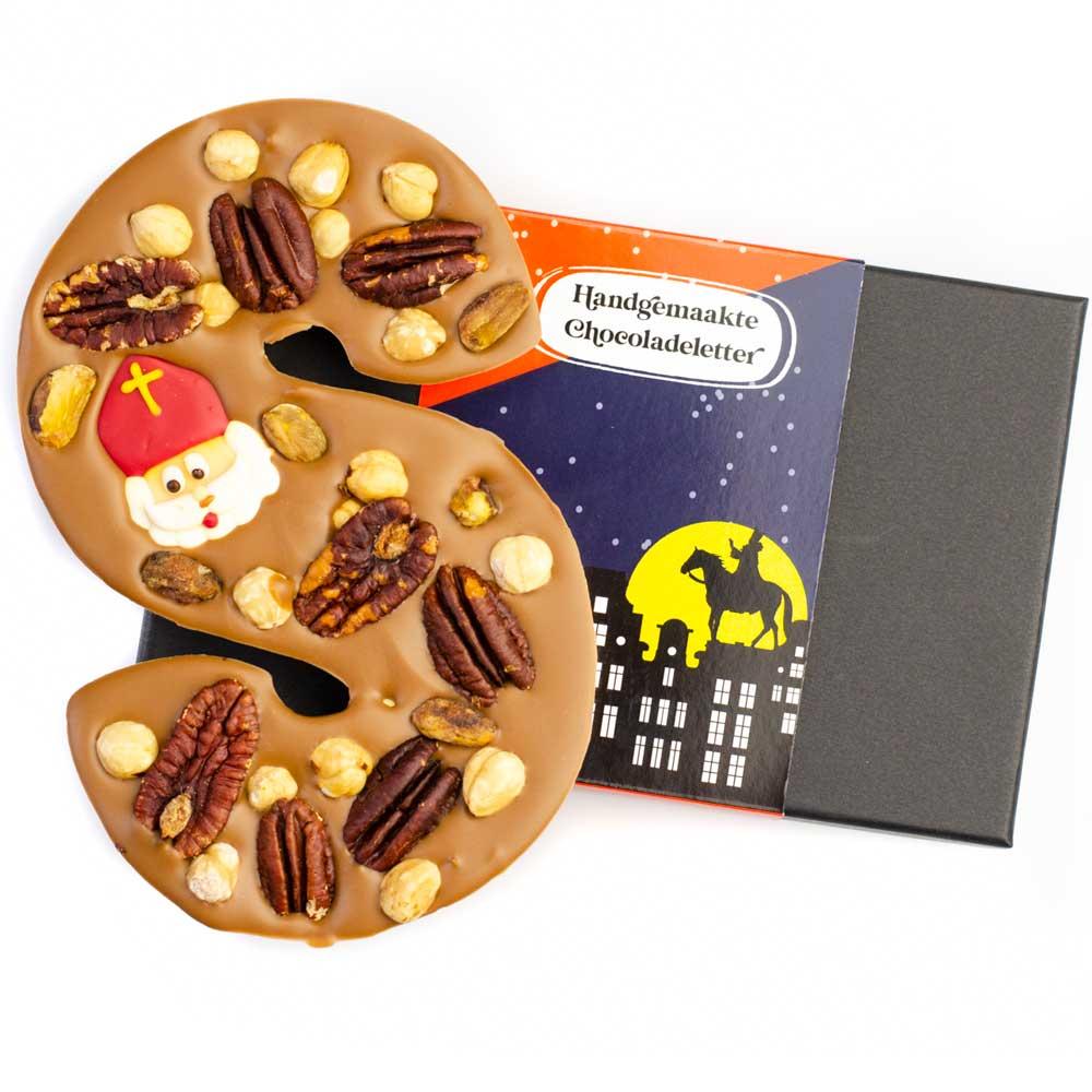 Feestelijke chocoladeletters bestellen