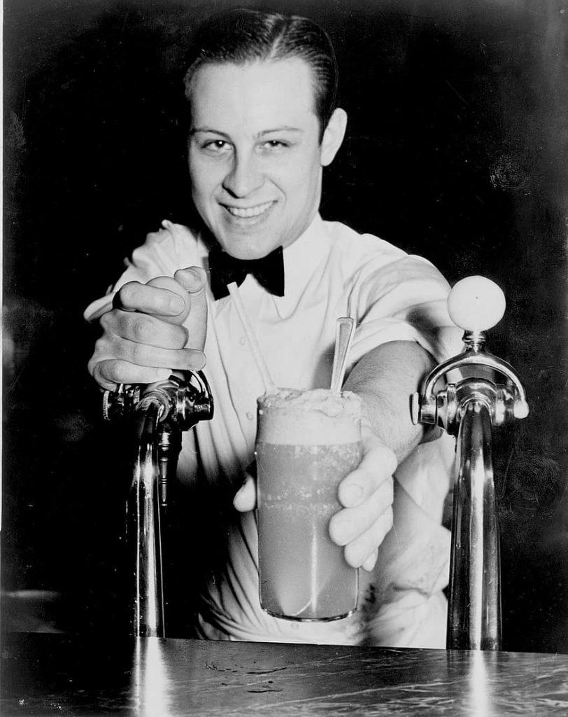 Geschiedenis van beroemde gerechten: milkshake