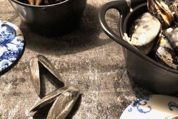 Mosselen met roquefort