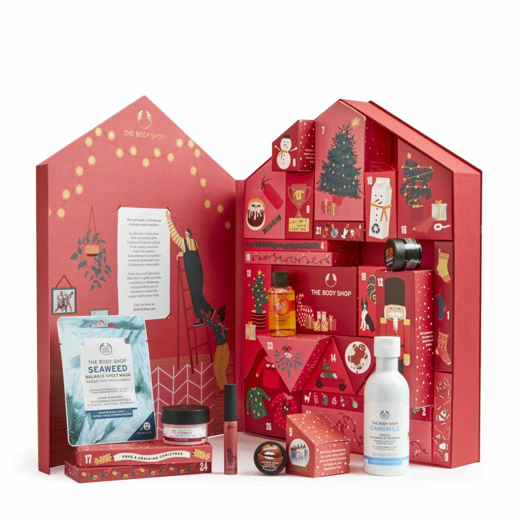 The Bodyshop adventskalender