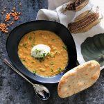 Indiase dahl van linzen, heerlijk warm comfortfood!