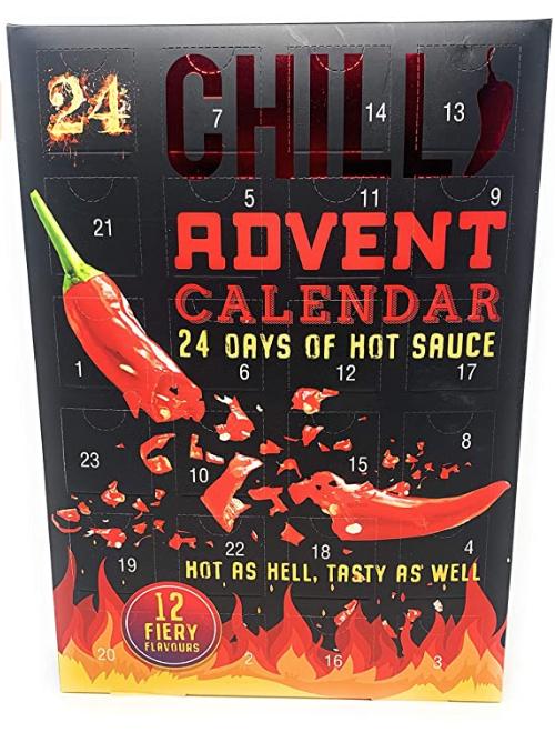 Culinaire adventskalenders - hete saus