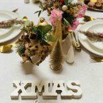 Inspiratie voor het stylen van de kersttafel