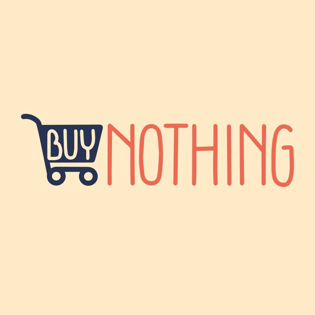 buy nothing february